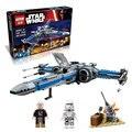 748 unids LEPIN 2016 05029 05004 10466 Star Wars x-wing Combatiente del bloque hueco de Primer Orden Poe compatible 75149 75102