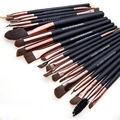 20 Unids Pro Set Maquillaje Polvos Sombra de Ojos Delineador de Labios Cosmético Pinceles Herramientas Set
