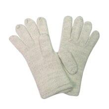 Female Gloves White Knitted Warm Winter Gloves Wrist New Soft Lurex Elegant Ladies Cold Gauntlets Mitten Winter Gloves For Women