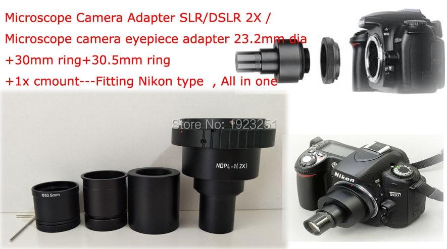 Beste ndpl 2x mikroskop kamera adapter objektiv slr dslr 2x für