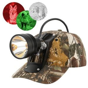 Image 3 - Светодиодный головной фонарь Kohree с аккумулятором 18650, Cree, перезаряжаемый Головной фонарь с зумом, светильник онарь для хищников, свиней, охоты, кемпинга + мягкая крышка