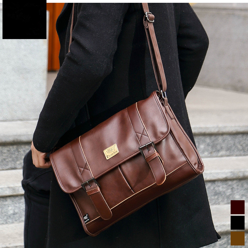 Brand Leather Men Bag Casual Business Leather Mens Messenger Bag Fashion Men's Crossbody Bag bolsas male new casual business leather mens messenger bag hot sell famous brand design leather men bag vintage fashion mens cross body bag