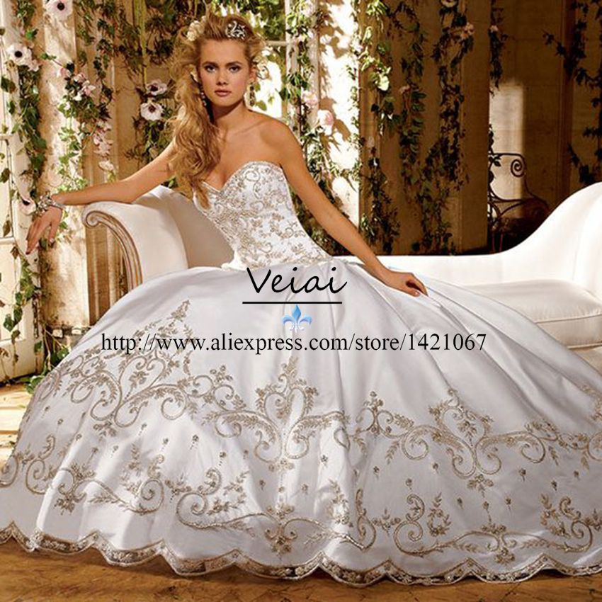 Images of Luxury Wedding Dresses - Reikian