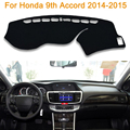 2016 Car Styling Sombra Protectora Dashboard Mat Cojín Pad Photophobism Alfombra Interior Para Honda Accord novena 2014-2015