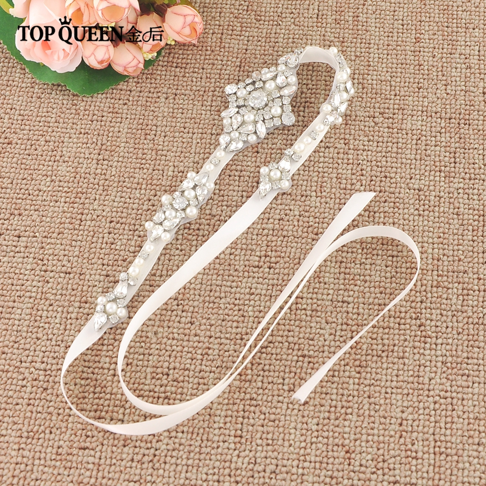 TOPQUEEN H357 Hot Sale Bridal Hair Accessories For Women Prepared By Rhinestone Hairband Bride High Quality Hair Jewelry
