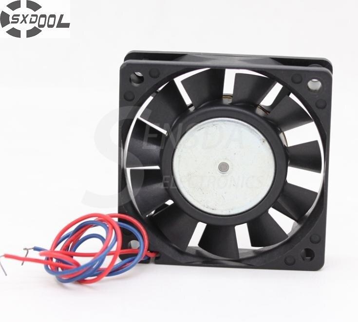 SXDOOL FBA06T24L 6015 6cm 60mm DC 24V 0.07A server inverter case axial blower cooling fans sxdool mds c1 v1 fan nc5332h44 mmf 09d24ts rn9 dc 24v 0 19a server inverter cooling fan