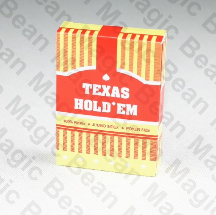 Texas Big Character Edition 100% պլաստիկ խաղաթղթերի - Զվարճանքներ