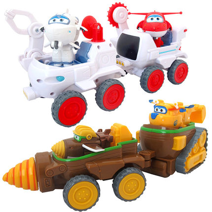 2 styles Transformation Super Wings Todd Donnie Dig Rig Robot Action Figures Super Wing Deformation Astra