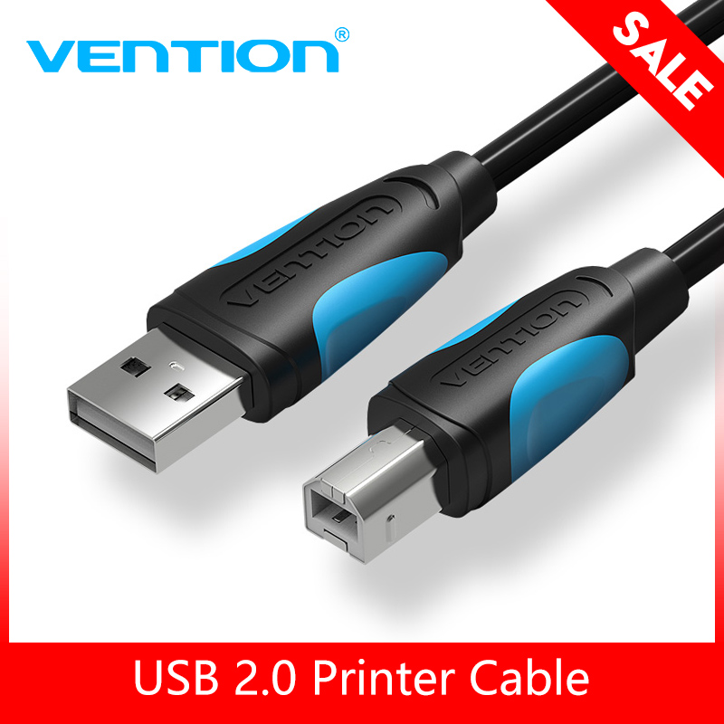 Vention USB 2.0 Printer Cable Type A to B Male to Male Print Cable Sync Data Charging Cord 1m 1.5m 2m 3m For Camera Epson HP USB стоимость