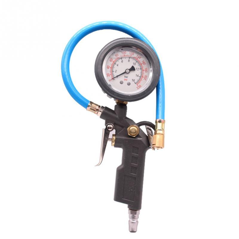 Car Auto Digital Tire Pressure Gauge Meter Tire Air Inflator Tool 220PSI 13