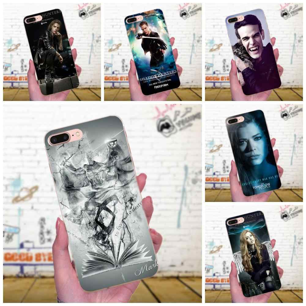 American Tv Series Shadowhunters Top Soft TPU Protective Skin For Xiaomi Redmi Note 2 3 3S 4 4A 4X 5 5A 6 6A Pro Plus