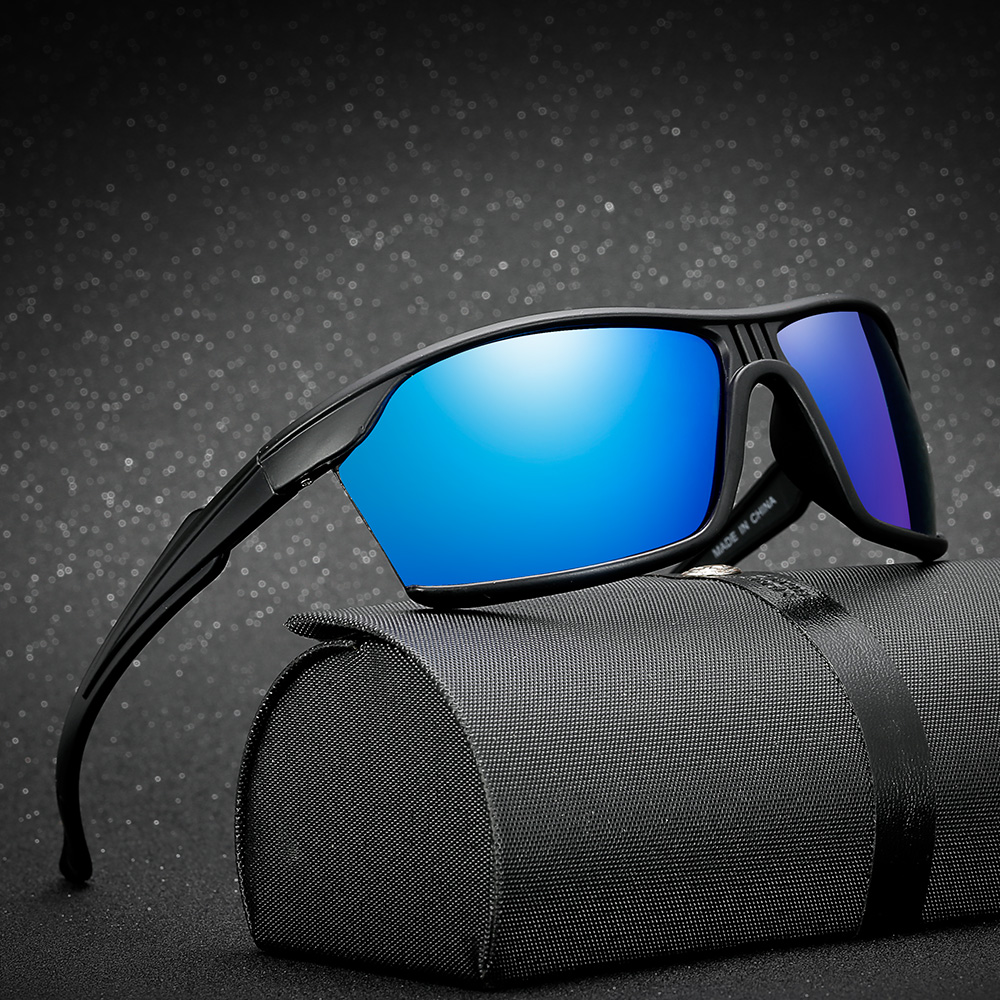 36b471b3 NOMANOV 2018 Новые Красочные Модные поляризованные солнцезащитные очки  спортивные наружные вождения анти-УФ анти-ветер очки зеркальные линзы