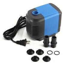 60W Submersible Pump Fish Tank Aquarium Mini Cylinder Micro Pump Loop Filter Pump Ultra-quiet