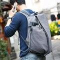 Os recém-chegados projeto mochila muzee usb quatro opções de cores mochila para o sexo masculino e feminino mochila de viagem mochila escolar