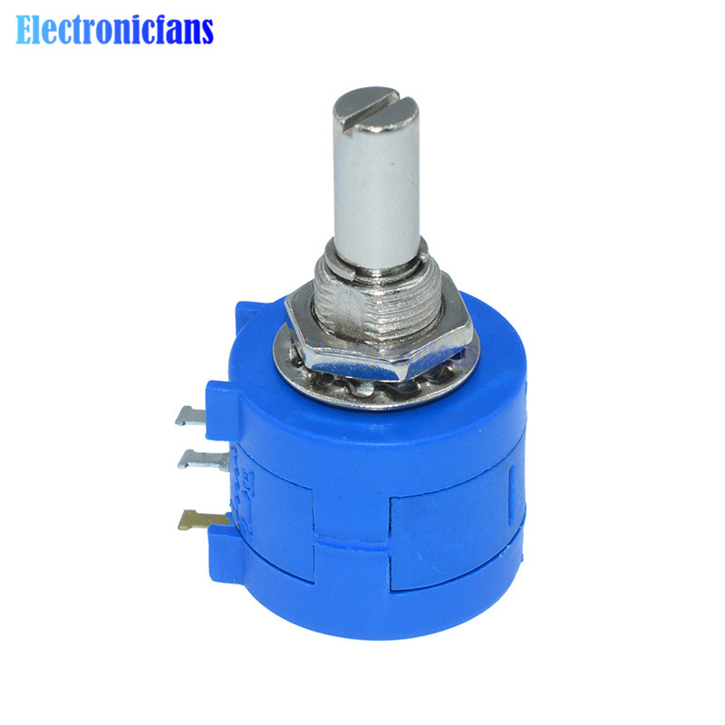 3590s-2-103l 3590s 10k ohm precisão multiturn potenciômetro 10 anel resistor ajustável