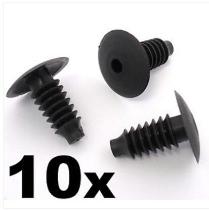 10 X MG BOOT TAILGATE DOOR TRIM CLIPS