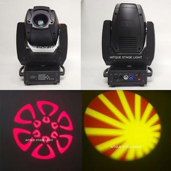 10 lotto led Luminoso 300 w ha condotto il punto a testa mobile 300 w testa mobile a led spot bianco della fase del led spot luce dmx