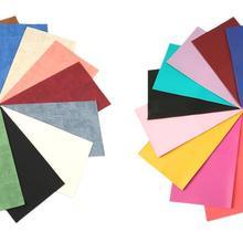 20*34 см 15 шт простой Цвет Bump текстура искусственная кожа лист пакет в ассортименте набор, материалы для ручных поделок для рукоделия, 1Yc6261