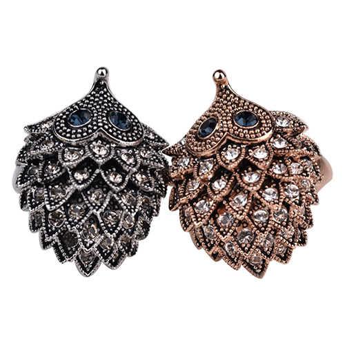 2016 новый продукт Женская Свадебная вечеринка день рождения ювелирные изделия винтажный богемный стиль кольцо с ежом