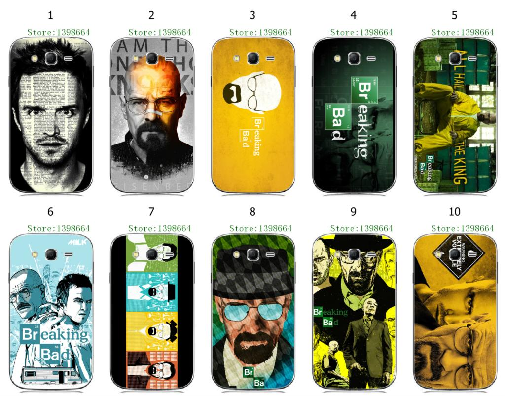 Online-custom breaking bad hard plastic back cover case for Samsung Galaxy Grand Neo I9060 Free Shipping