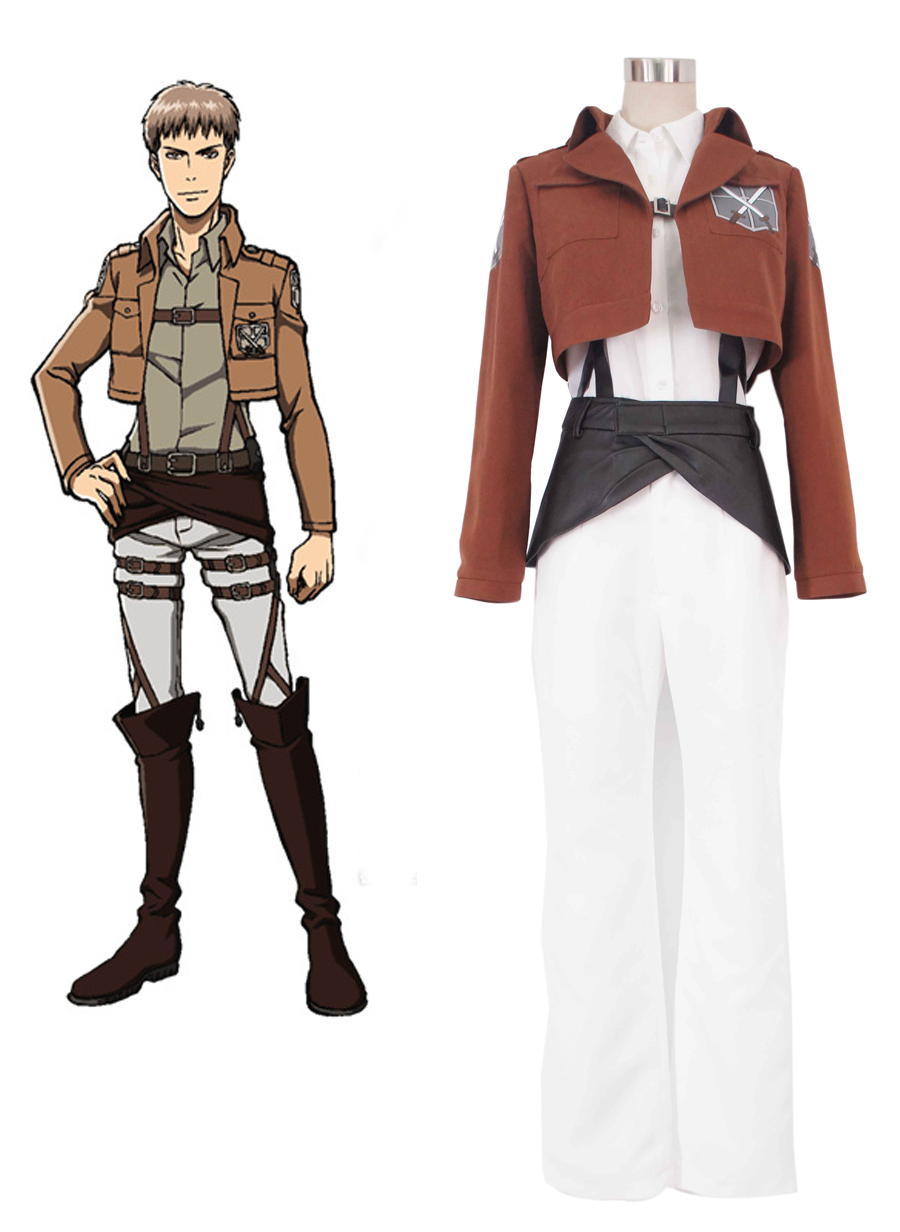 Attack on Titan Trainee Class Cosplay Costume Tailor Made ...