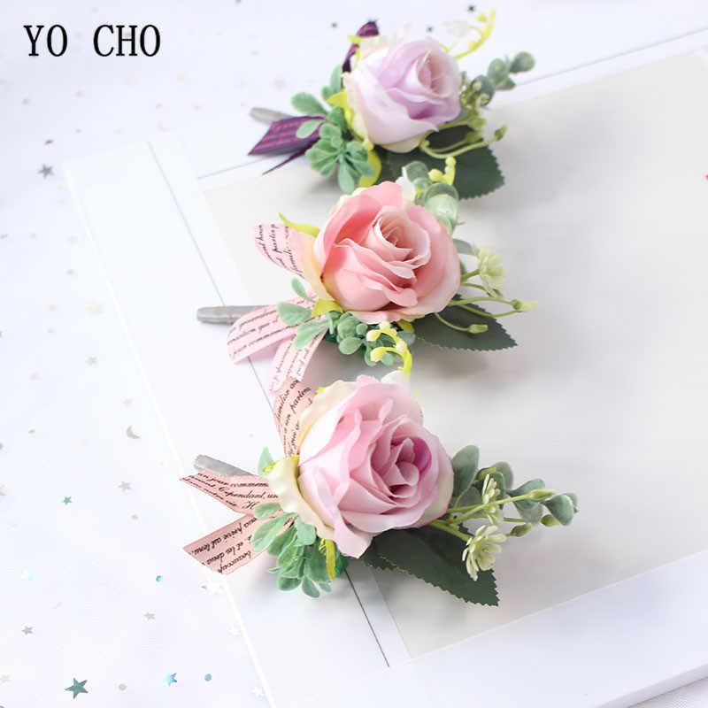 78fd3877cc796 Detail Feedback Questions about YO CHO Wedding Boutonnieres Men Red ...