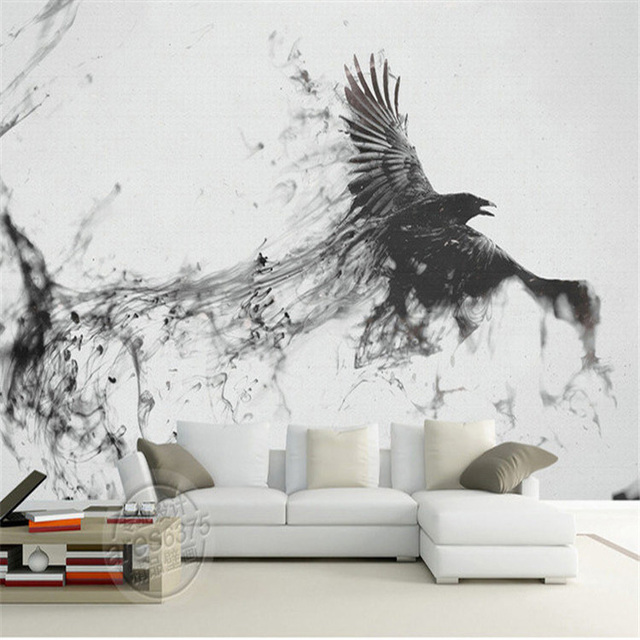 buy game of thrones photo wallpaper custom 3d large wall mural ink art. Black Bedroom Furniture Sets. Home Design Ideas