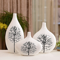 Дома Гостиная вазы украшения современный Цветочная композиция Керамика вазы цветы свадебные подарки береза WL5101508