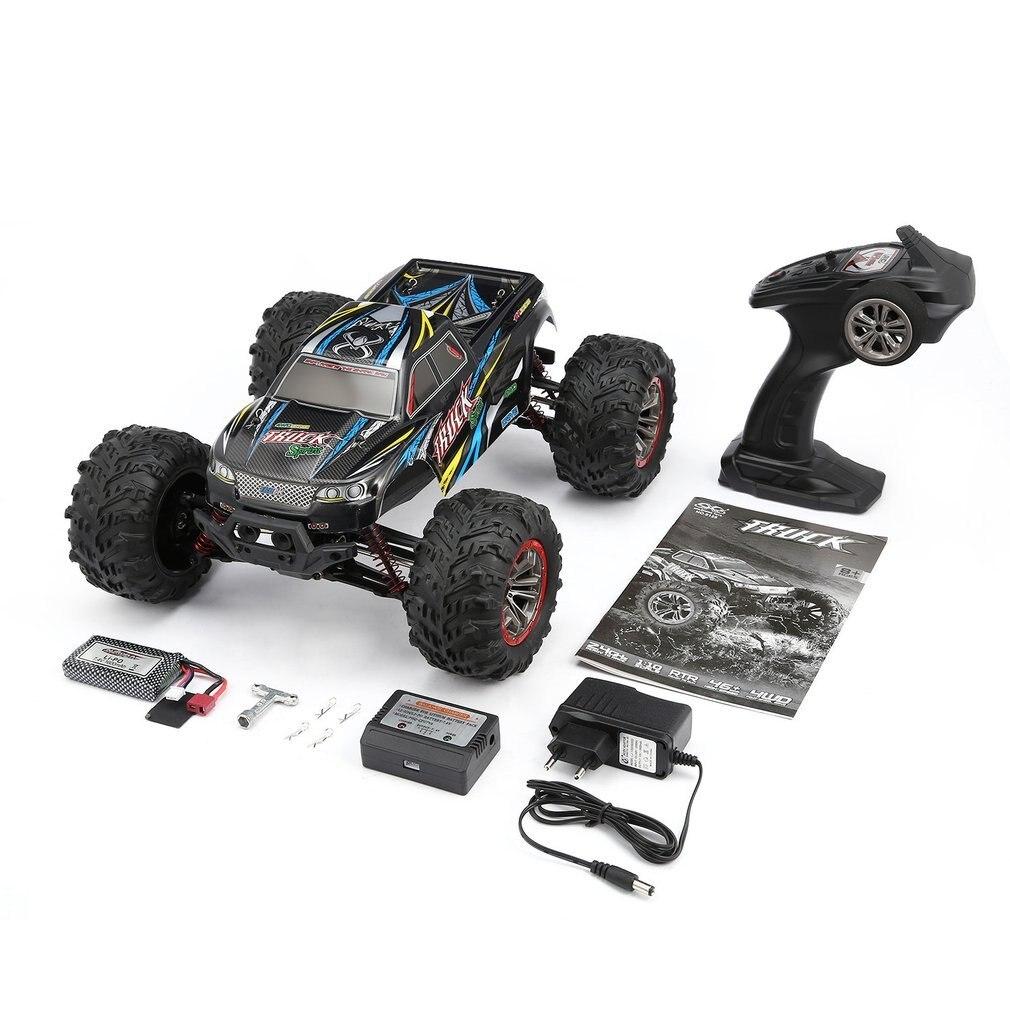 Высокое качество 9125 4WD 1/10 RC гоночный автомобиль с высокой скоростью 46 км/ч Электрический сверхзвуковой грузовик внедорожник багги игрушки РТР - 2