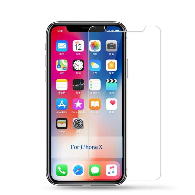 Премиум Закаленное стекло для iPhone XS XR MAX Защитная пленка для экрана для iPhone XR XS Max X 10 9 H твердость прозрачная защита
