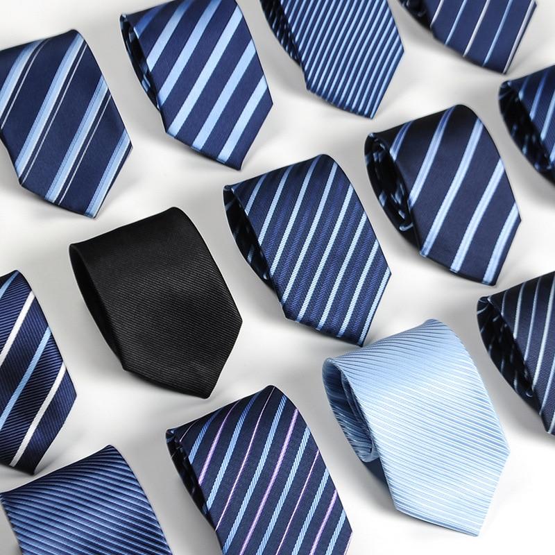 Hot Sale Men Ties Necktie Neckcloth Neckwear Formal Gravata Wedding Gift Casual Banquet Daily Wear Father's Gift Stripe Ties