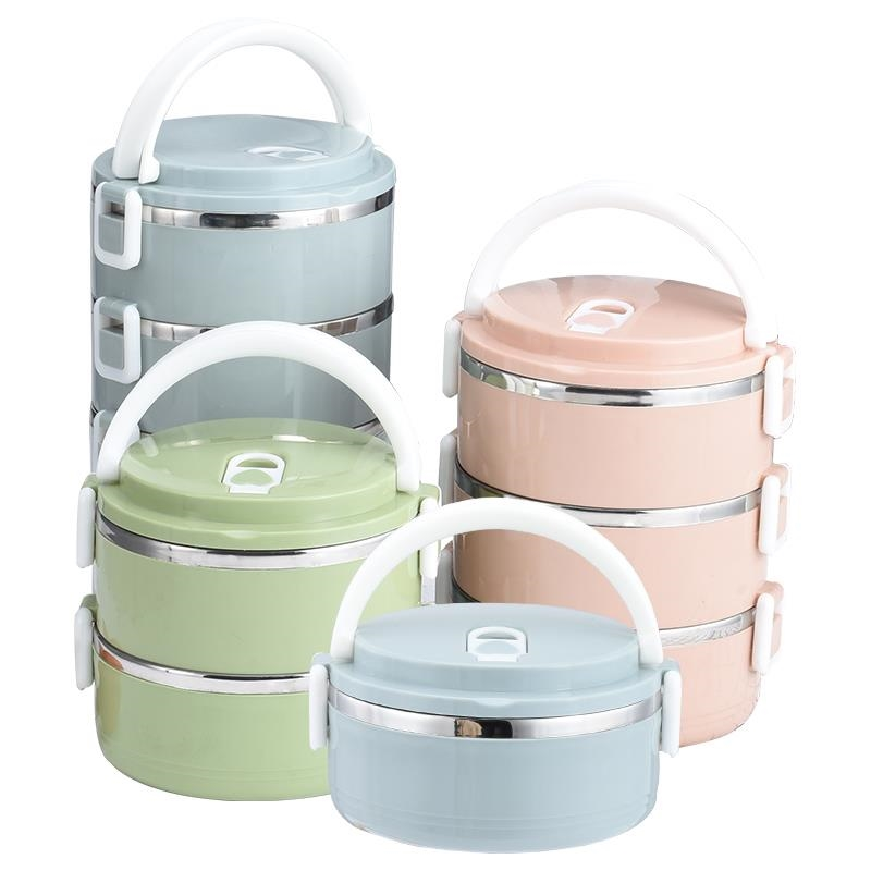 Japanese Thermal Lunch Box Stainless Steel Food Containers Storage Portable Kids Bento Lunch Box For School Picnic Set