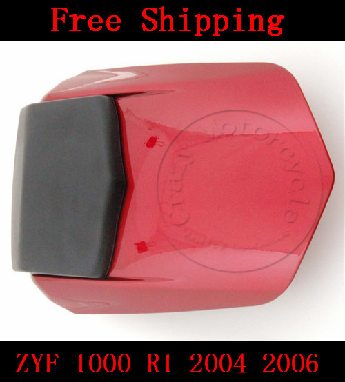 For Yamaha YZF 1000 R1 2004 2005 2006 motorbike seat cover Motorcycle Red fairing rear sear cowl cover Free Shipping new motorcycle rear seat cover cowl for honda cbr1000rr 04 07 2004 2007 2005 2006 carbon fiber free shipping c20