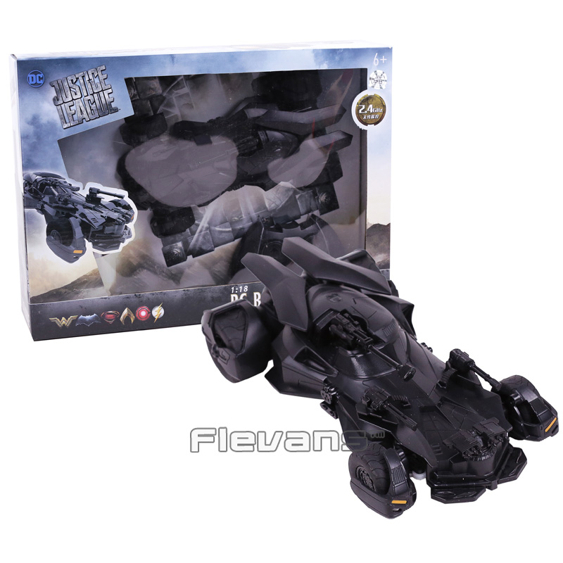 DC Justice League Batman 1:18 RC Batmobile PVC Action Figure Collectible Model Toy Gift neca planet of the apes gorilla soldier pvc action figure collectible toy 8 20cm