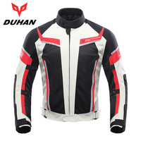 DUHAN Motorcycle Jacket Summer Breathable Men S Motocross Off Road Jacket Mesh Moto Racing Jacket Motorcycle
