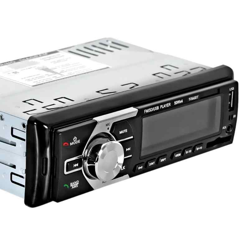 Автомобильный MP3-плеер В приборную панель автомобиля радио плеер 12 V музыкальным проигрывателем Bluetooth громкой связи Авто аудио стерео SD mp3 плейер AUX USB Новый