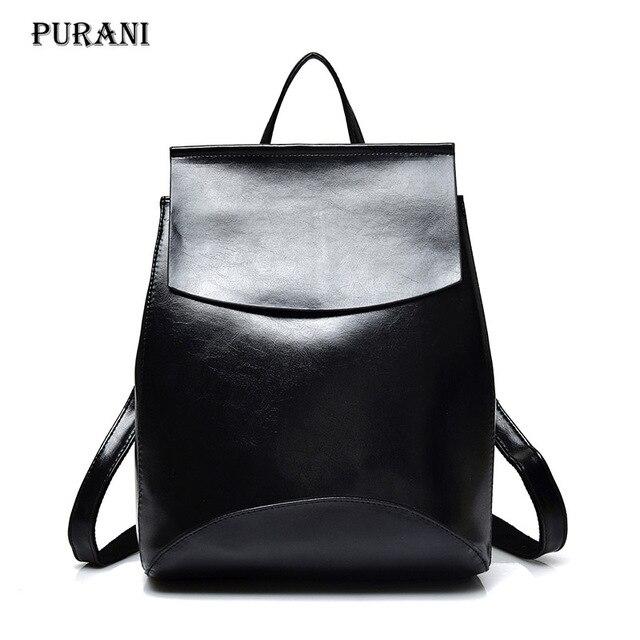 New Fashion Women Backpack High Quality Casual PU Backpacks For Teenager  Girls School Travel Leisure Job Shoulder Bag Mochila 20b45cec3fef8
