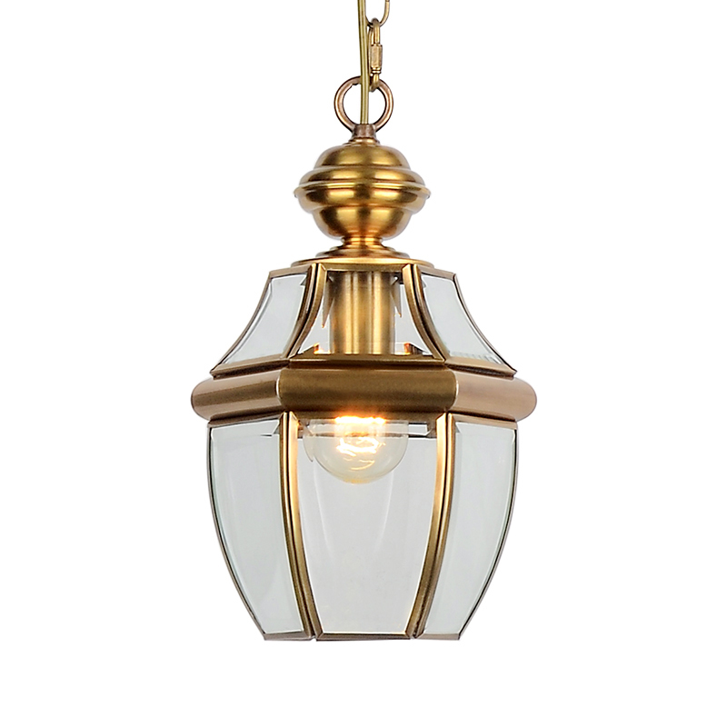 New Classic Mini Lantern Electroplated Pendant Light Traditional Glass Lampshade Hanging Lamp For Living Room Dining Room PL558 glass lampshade pendant lamp glass metal high quality indoor bedroom dining room hanging lamp light 110v 250v luminaires
