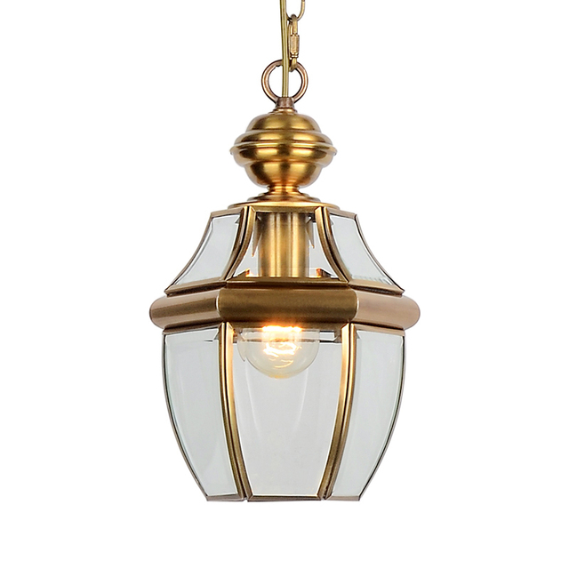 New classic mini lantern electroplated pendant light traditional new classic mini lantern electroplated pendant light traditional glass lampshade hanging lamp for living room dining mozeypictures Images