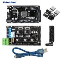 3D Printer CNC Basic KIT MEGA 2560 R3 RAMPS 1 4 Adapter MicroUSB Cable 50cm Compatible