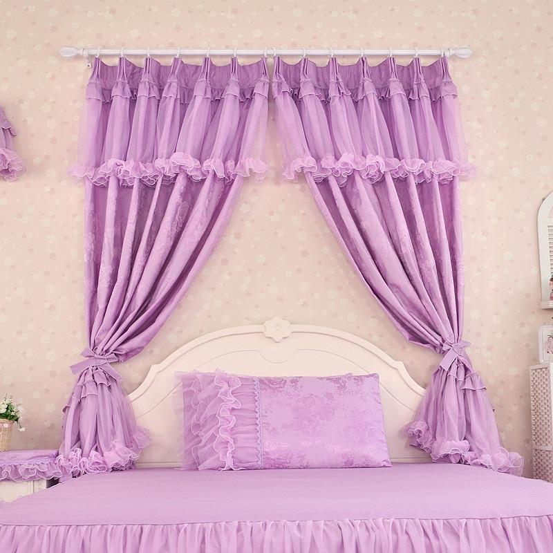 encargo de lujo moderno cortinas moradas para sala de estar para windows kids curtain y cenefa dormitorio cortinas cortinas marca china en cortinas de casa - Cortinas Moradas