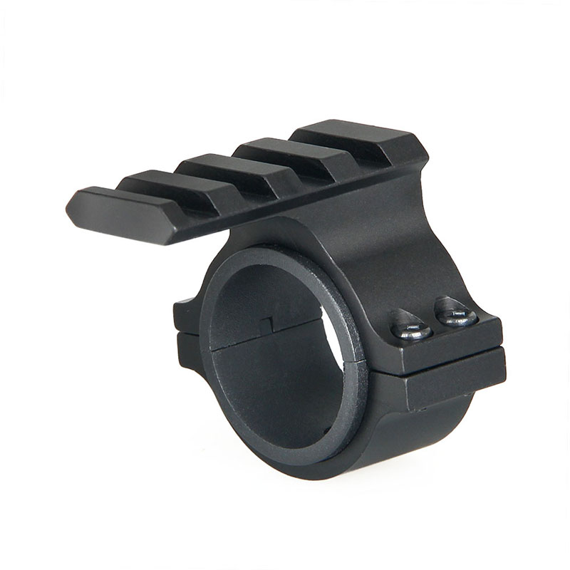 Tactial 25.4mm 30mm Scope Ring Barrel Flashlight Mount Adapter with 20mm weaver Picatinny Rail For Hunting(China)