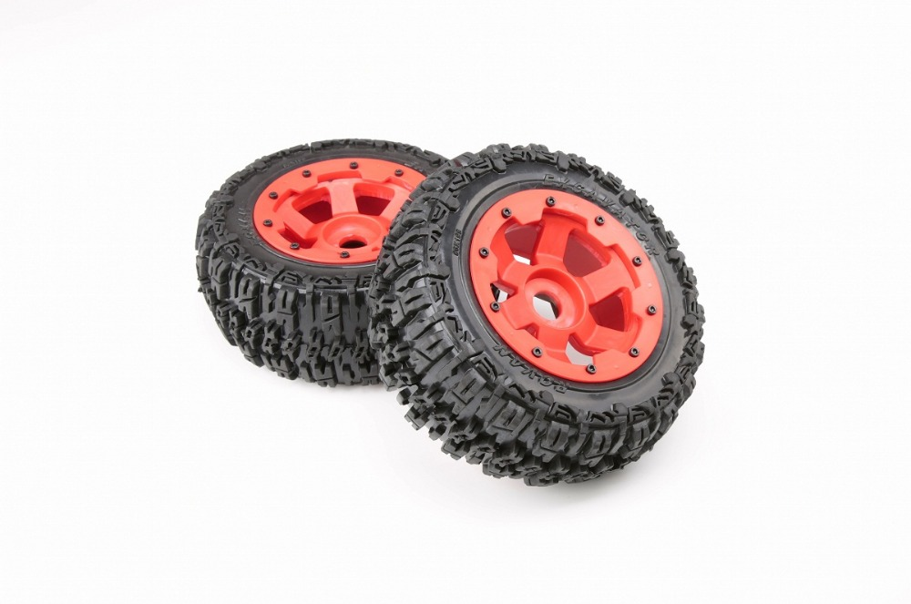 1/5 scale gas rc Baja 5T tyre part rear knobby wheel set with nylon hub1/5 scale gas rc Baja 5T tyre part rear knobby wheel set with nylon hub