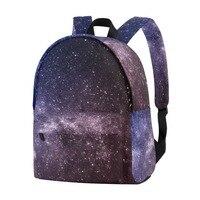 Unicreate Galaxy Backpack Purple Cute for School | 16