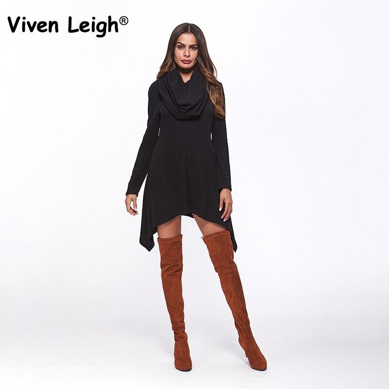 Cowl Neck Hooded Dress: Aliexpress.com : Buy Viven Leigh Oversized Hooded Dress