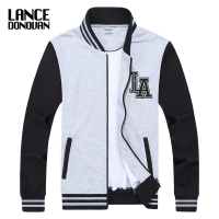 MAX Chest 140CM Baseball Jacket Men 2016 Brand Clothing L 5XL 6XL 7XL 8XL Sweatshirt College