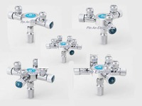 Aquarium Splitter For Co2 Regulator Multi Way 2 3 4 5 6 Way Co2 Diy Independent