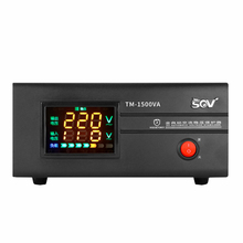 Household Pressure 220v Automatic 1500W Audio Monitor Small-sized Benchtop regulated Power supply Source voltage stabilizer AC