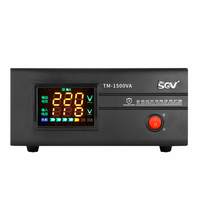 Pressure Household 220v Automatic 1500W Audio Monitor Small sized Benchtop regulated Power supply Source voltage stabilizer AC