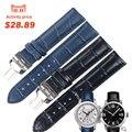 ISUNZUN Homens/Mulheres Pulseira Para Tissot Relógio Banda PRC200 T055410A T055/417/430 Masculino Relógio de Couro Genuíno assistir Cinta de 19 23mm